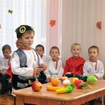 Группа Колосок. Игра с овощами