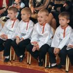 Мальчики группы Колосок на празднике