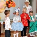 Осенний праздник группа Колосок