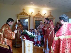 Престольный праздник 2013. В храме.