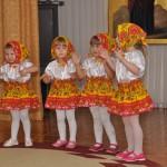 Танец матрешек-малышек